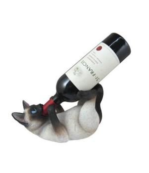 Siamese Cat Wine Holder 6PC