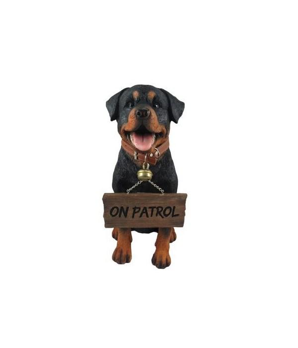 """12.95"""" Buddy (Rottweiler Sign) 4pcs/cs"""