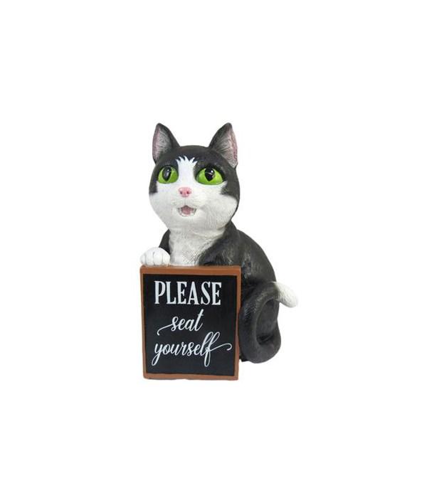 Cat Toilet Top w/Sign 12PC