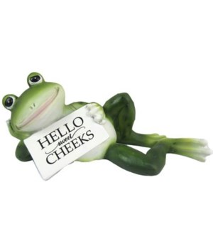 Frog Bathroom Sign 12PC