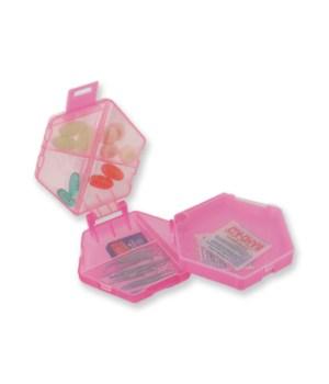 Hexagon Pill Box-18PC