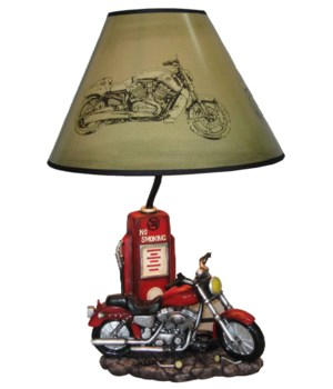 "20"" Red Motor Cycle Lamp 4PC"