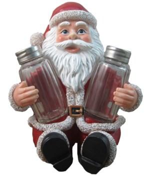 "6.75"" Santa's Greeting (Santa S/P) 12PC"