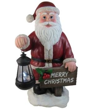 """16"""" Good Cheer Greeting (Santa) 1PC"""