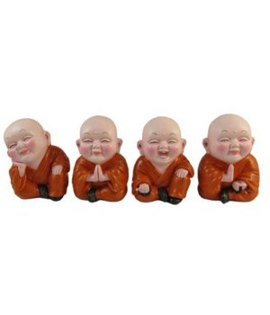 Mini Budda  4-Asst/6PC Sets