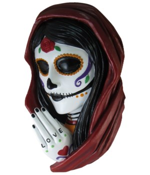 "16"" Day Of The Dead Wall Hanger 1PC"