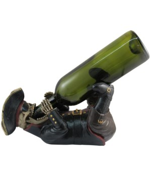 "L11.5"" Pirate Wine Holder 6PC"