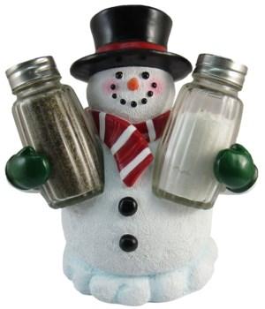 """6"""" Festive Flavor (Snowman S/P) 12PC"""