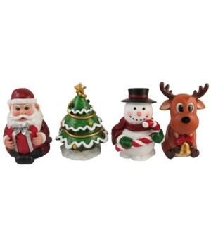 "4"" Christmas Mini's 4 Asst/6 Sets"