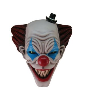 "15"" Clown Head Wall Hanging 1PC"
