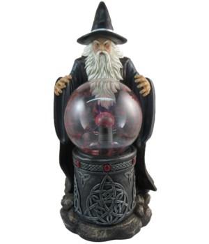 Wizard With Plasma Electric Ball 4PC