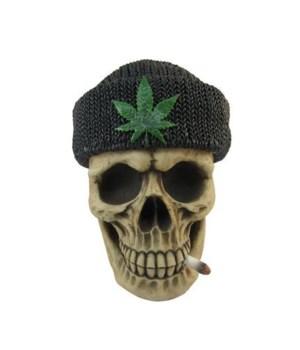 "6"" Smoke N' Stash (Skull Stash Box) 12pc"