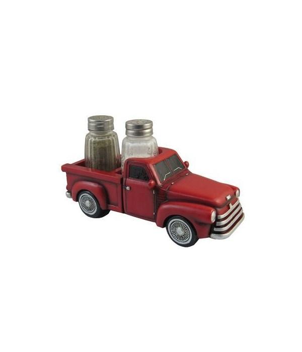 """L7.5"""" Truck Salt & Pepper Holder 12PC"""