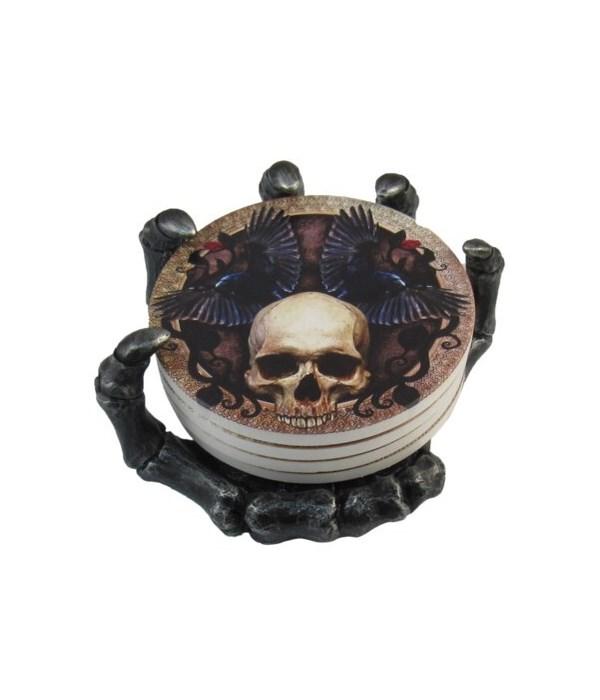 "L5.5"" Skeleton Coaster (4 Coaster Set)"
