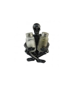 Skeleton Salt & Pepper Holder 12PC