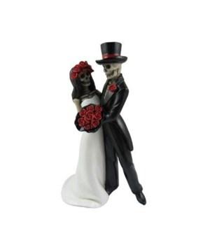 Sugar Skull Wedding Couple 12PC