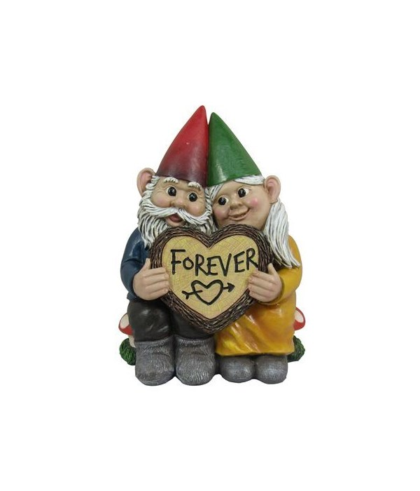 Gnome Forever Couple