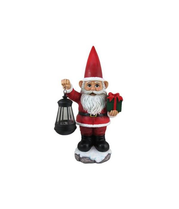 "*16"" Santa with Lantern"