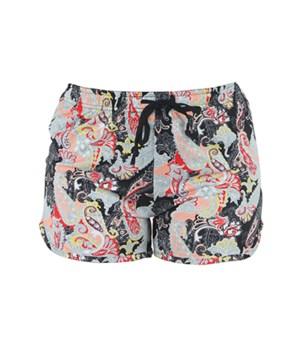 L/XL Paisley Lounge Shorts 2PC