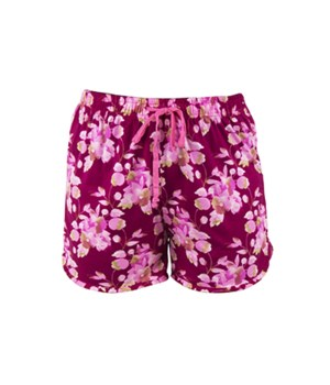 L/XL Magenta Floral T. Bliss Shorts 2PC