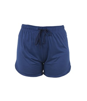 L/XL Solid Blue T. Bliss Shorts 2PC