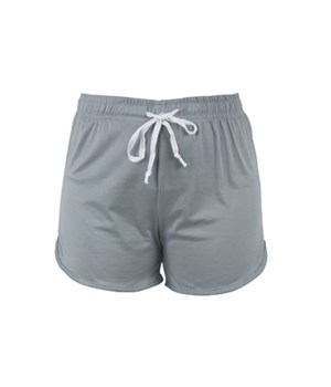 L/XL Solid Gray T. Bliss Shorts 2PC