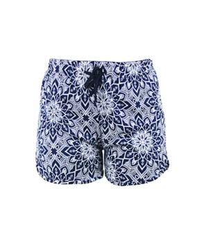 L/XL Blue-White T. Bliss Shorts 2PC