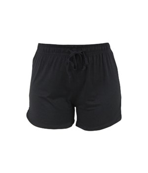M/L Solid Black T. Bliss Shorts 2PC
