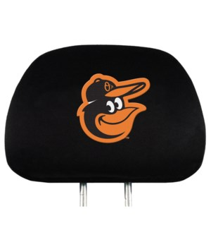HEAD REST COVER - BALT ORIOLES
