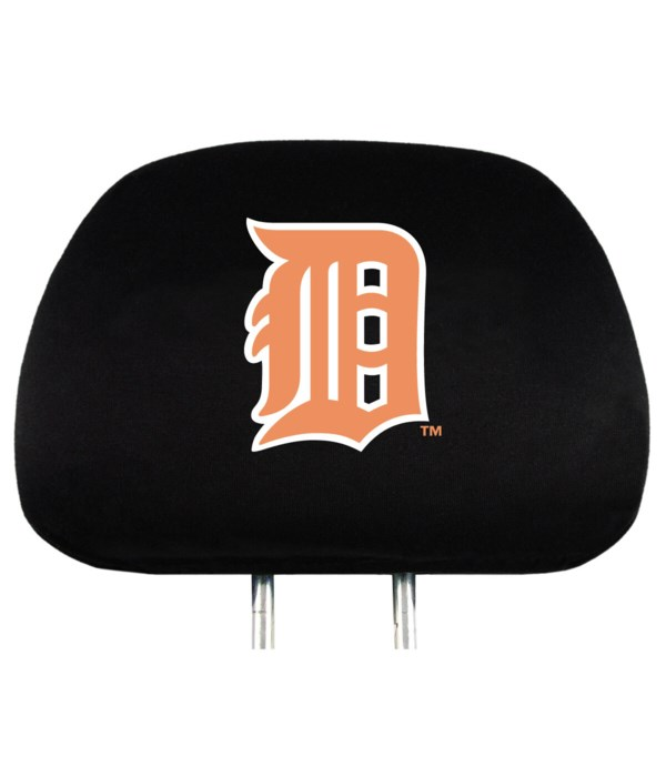 HEAD REST COVER - DET TIGERS