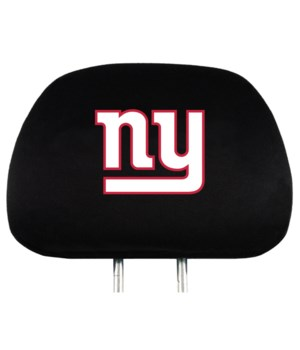 HEAD REST COVER - NY GIANTS