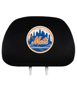 HEAD REST COVER - NY METS