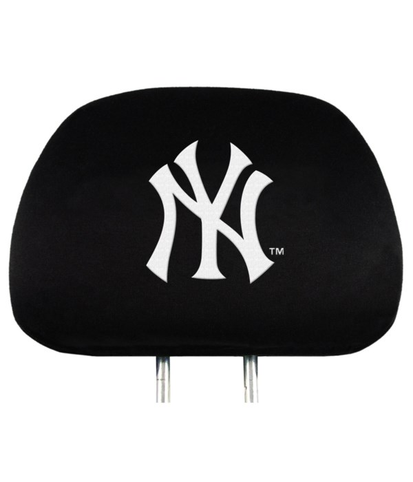 HEAD REST COVER - NY YANKEES