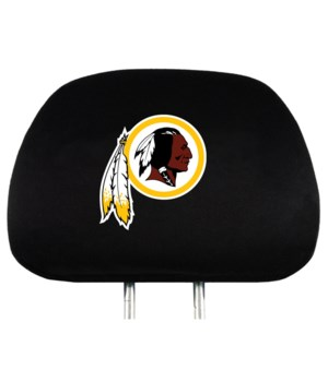 HEAD REST COVER - WASH REDSKINS