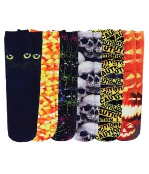 Halloween Hyper Real Socks 24PC