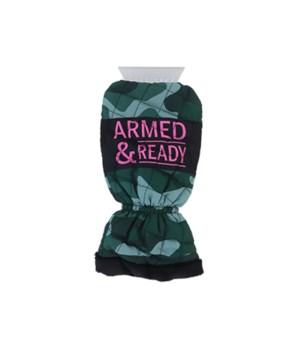Armed & Ready Ice Scraper Mitten 4PC