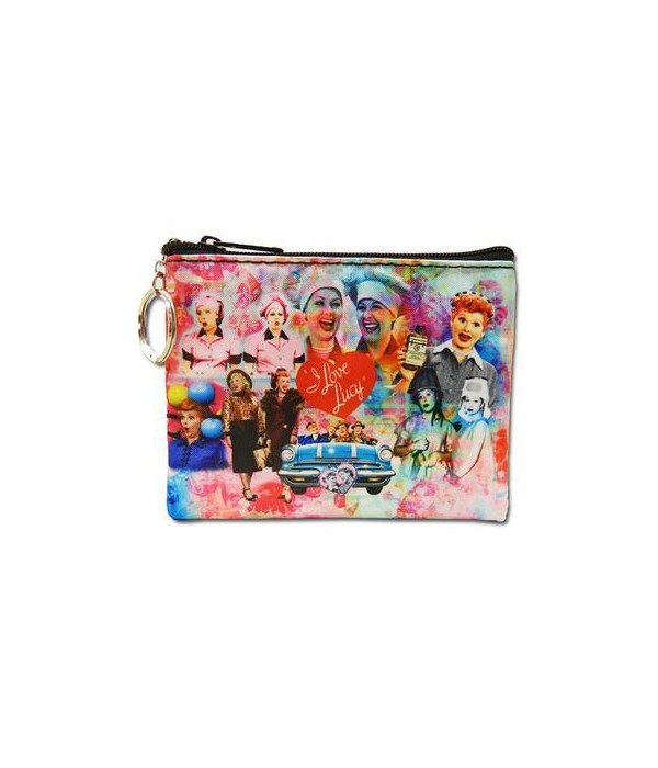 I LOVE LUCY COIN PURSE - COLLAGE #1