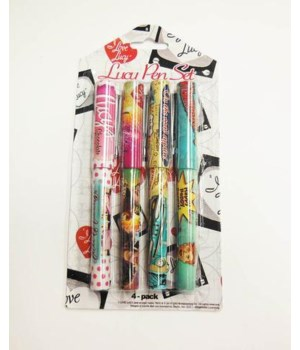 I LOVE LUCY PEN SET