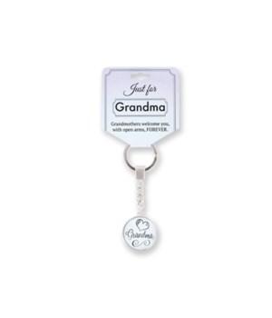 Just for Grandma Keychain