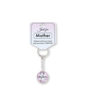 Just for Mother Keychain