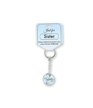 Just for Sister Keychain