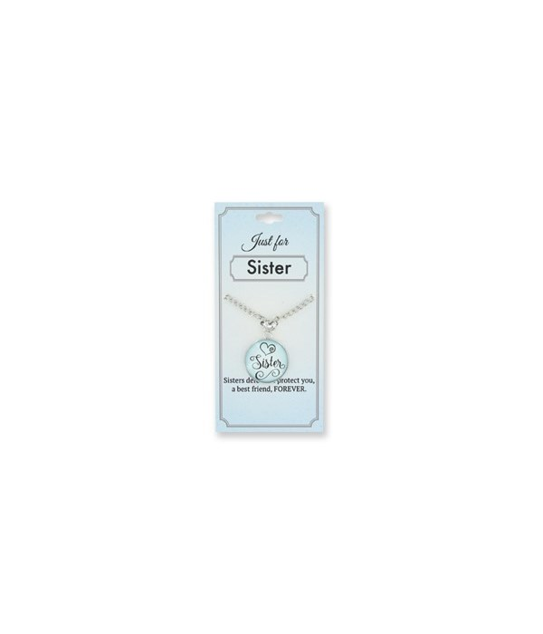 Just for Sister Pendant 24PC