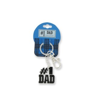 Just for You # 1 Dad Keychain 24PC