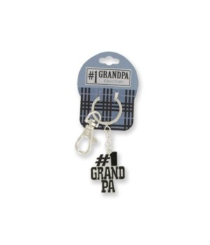 Just for You # 1 Grandpa Keychain 24PC
