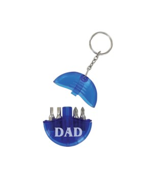 Dad Tool Set Keychain 24PC