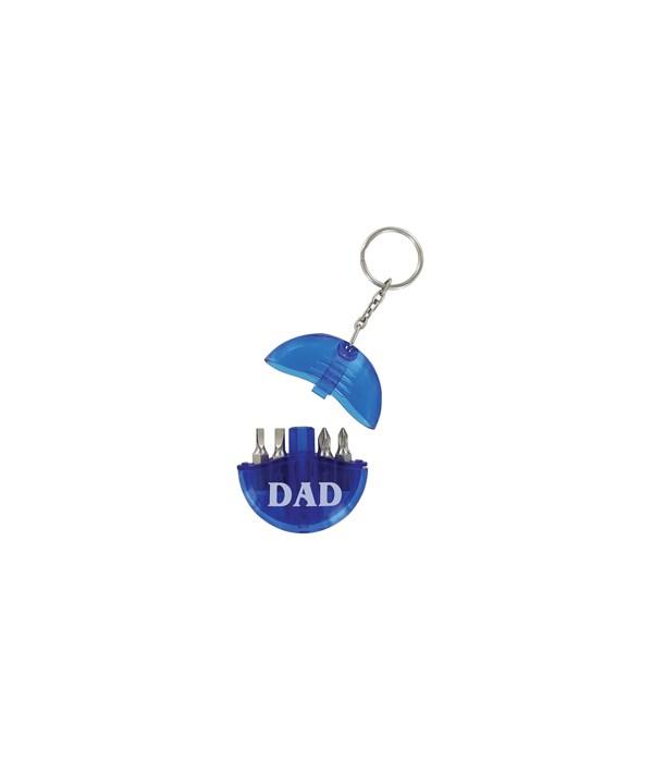 Dad Tool Set Keychain 24PC
