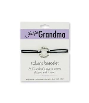 Just for Grandma Token Bracelets