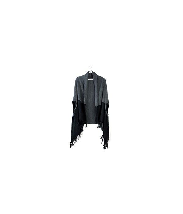 Charcoal/Black Apline Wrap 3PC