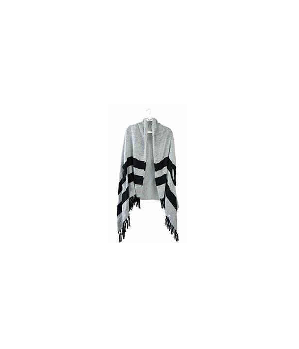 Gray/Black Apline Wrap 3PC