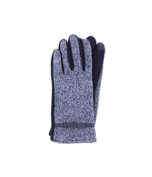 Navy  Two-Tone Texting Gloves 3PC